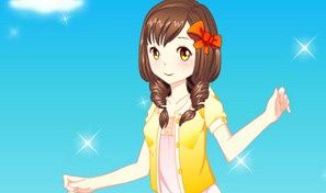 Original game title: Pure Girl Dressup