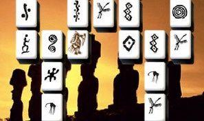 Mysterious Statues Mahjong