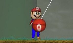 Original game title: Mario Basketball C.