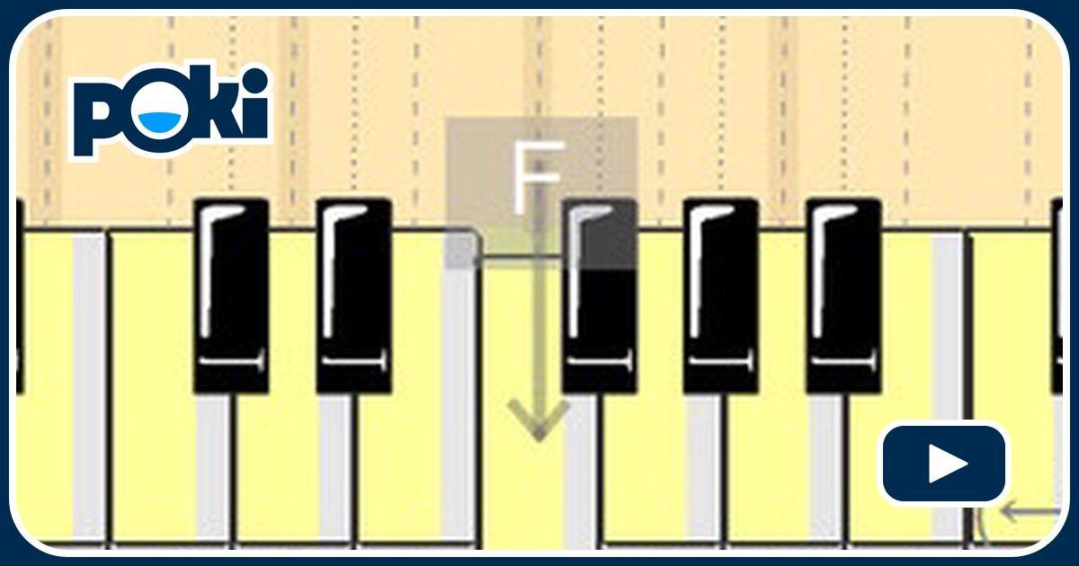 Talento al piano online juega gratis en for Strumento online gratuito piano piano