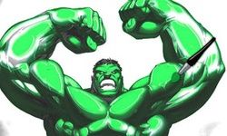 Colorindo o Hulk