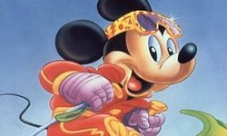 Оцветяване на Мики Маус-скиор