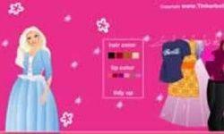 Tinkerbell Barbie Dress Up