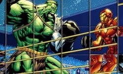 Quebra-cabeça de Boxe do Hulk