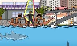 Žralok v Sydney