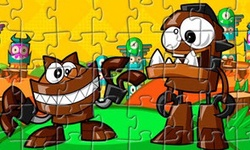 Puzzle Gobba and Chomly