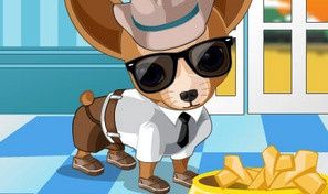 Original game title: Fleego Doggy DressUp