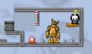 Original game title: Crash the Robot!