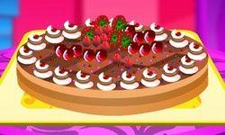 Decorando a Torta de Maçã