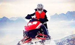 Cross Country en Snowmobile