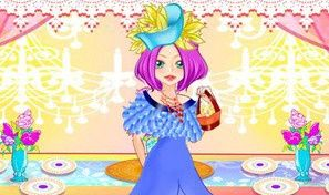 Original game title: Princess Dinner Dress Up