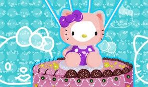 Original game title: Hello Kitty Cake Decoration