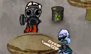 Original game title: Junk Food Waiter
