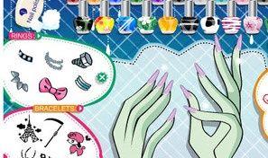 Frankie Stein Manicure