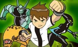 Ben 10 Crazy Motorcycle