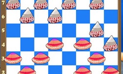 Checkers in the Sea