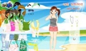 Original game title: Island Beach Dress Up