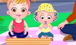 Baby Hazel Pique-Nique en Famille