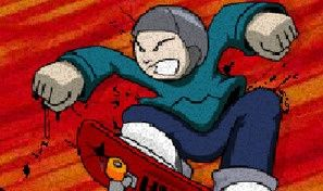Original game title: Halfpipe Challenge