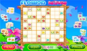 Original game title: Flower Sudoku