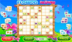 Original game title: Flower Sudoku