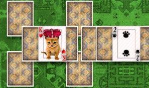 Original game title: Kitten Solitaire