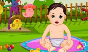 Garden Baby Bathing