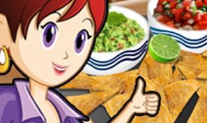 Original game title: Sara's Cooking Class: Nachos and Dips