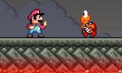 Vechten met Mario