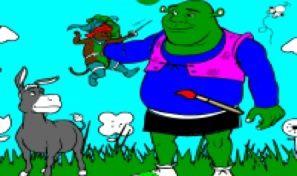 Original game title: Shrek Create & Color