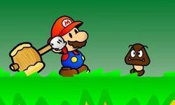 Mario World Papier