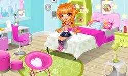 غرفة نوم يوكي اللطيفة