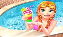 Ice Princess Pool Time
