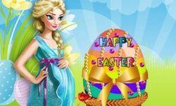 Pregnant Elsa Easter Egg