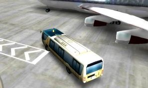 Park it 3D:Airport Bus
