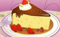 Decoração Fatia de Cheesecake