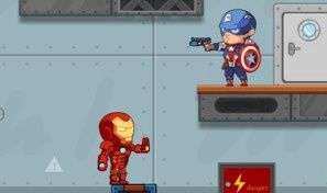 Avengers Hero vs Alien Robot