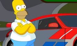 Simpsons Car Parking