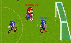 Mario contre Sonic : Football