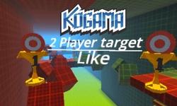 Kogama: 2-Player Target Parkour