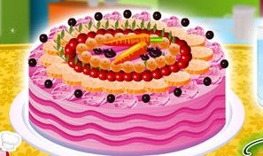 Original game title: Cake Full of Fruits