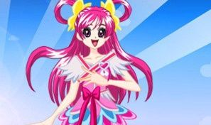 Original game title: Glitter Force Dress-Up