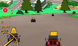 Original game title: Simpsons 3d Kart