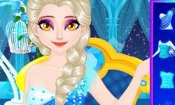 Elsa's Sparkling Eyelashes