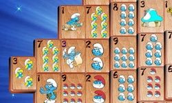 Smurffien Klassinen Mahjong