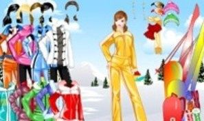 Wintersports Mansion Dress Up
