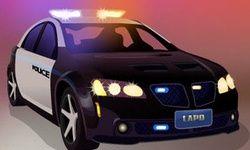 Parcari la Politia din Los Angeles