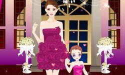 Vestindo Mãe e Filha