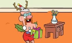 Sneakin' Santa