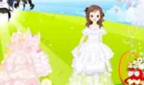 Dreamlike Wedding Dress Up
